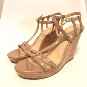Jessica Simpson Wedges **NEW NEVER WORN**